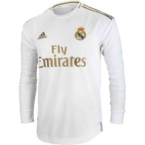 real Madrid home jersey full sleeve 2019-20