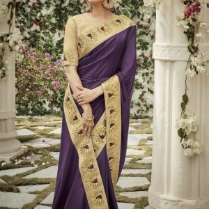 Kimora Silk Cotton Fancy Saree Diamu