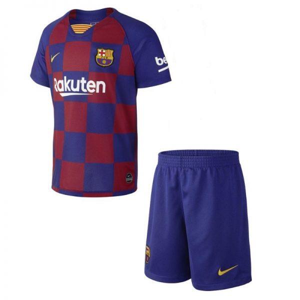 Barcelona home kids jersey Diamu