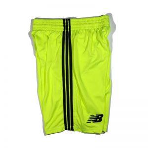 Football Jersey Shorts Lime Diamu