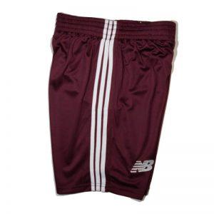 Football Jersey Shorts Maroon Diamu