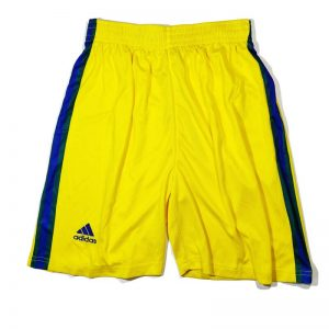 Football Jersey Shorts Yellow Diamu