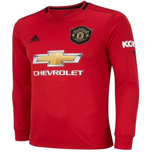 Manchester United Home Jersey Full Sleeve 2019-20 Diamu