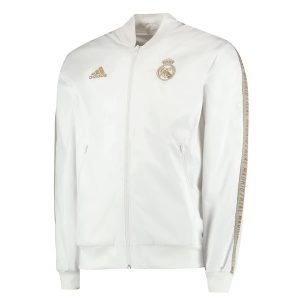 Real Madrid Anthem Jacket White