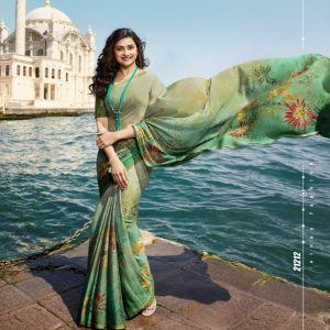 Vinay Silk Georgette Saree