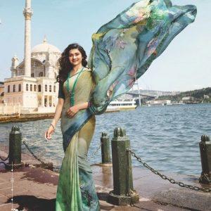 Vinay Silk Georgette Saree