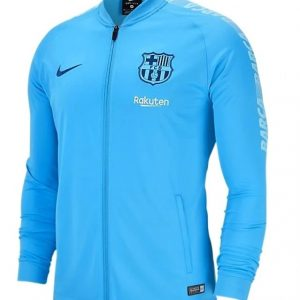 FC Barcelona Men's Jacket Light blue Diamu