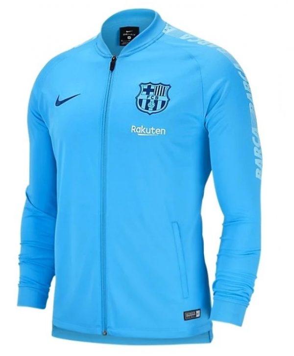 FC Barcelona Men's Jacket Light blue Diamu