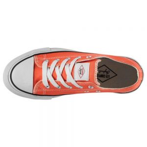 Lee Cooper Canvas Lo Shoes Ladies Diamu