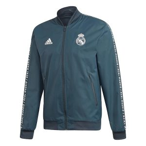 Real Madrid Anthem Jacket Grey Diamu