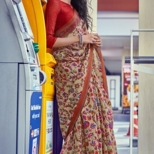 LT Kashmiri Digital Print Saree