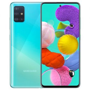 samsung galaxy A51 Blue Diamu