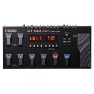 BOSS GT-100 Guitar Multi-Effects Processor Diamu