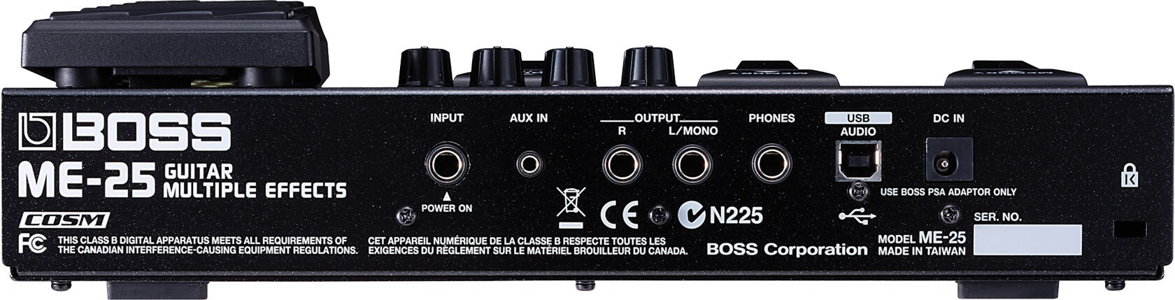 Boss ME25 Multi-effects Guitar Pedal