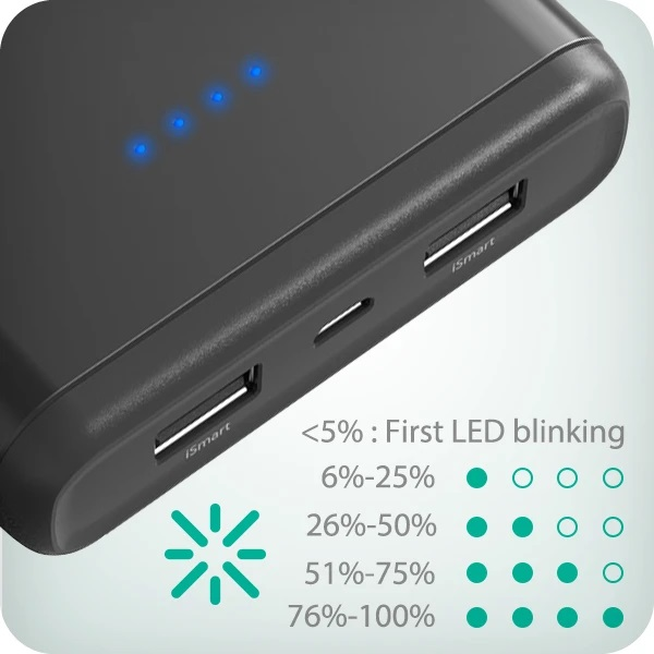 Ravpower 20000mah power bank