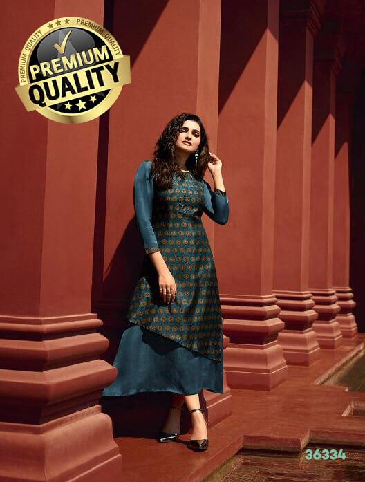 Vinay Tumba Destiny Stylish Ladies Kurti DDK-36334 1 (1)