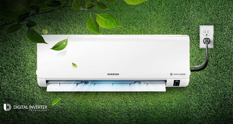 Samsung Inverter Split AC Digital Inverter (2.0 TR) AR24MVFHGWK2FE Diamu
