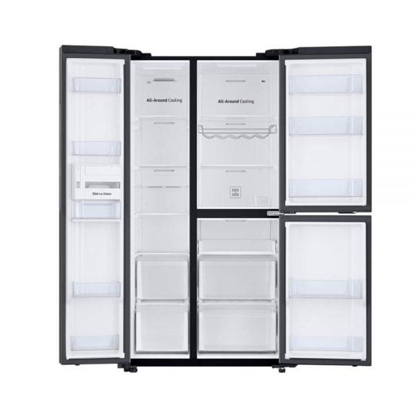 Samsung Side by Side Refrigerator 689L RS73R5561B4 TL 1