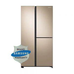 Samsung Side by Side Refrigerator RS73R5561F8 TL 689L