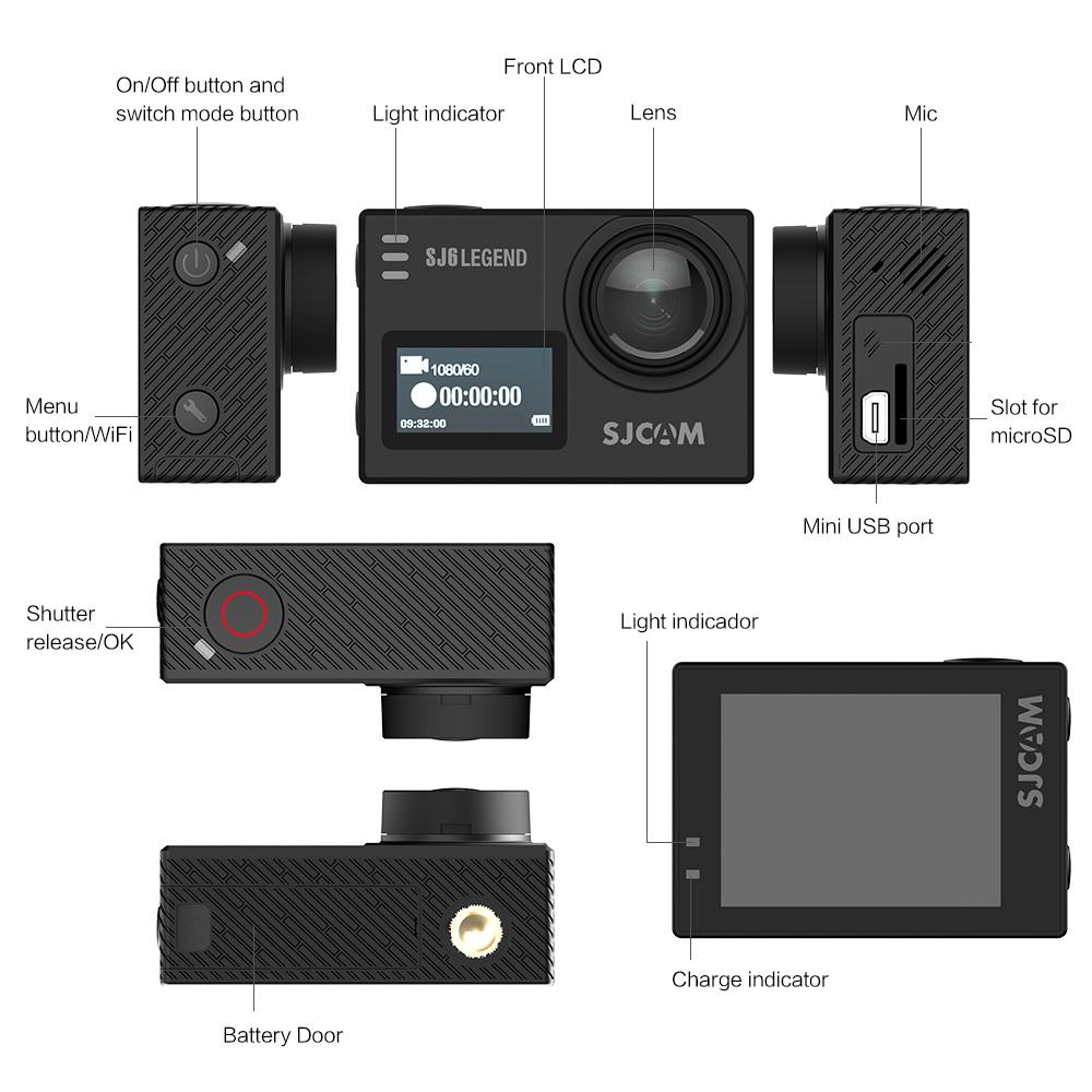 SJCAM SJ6 LEGEND Action Camera 3