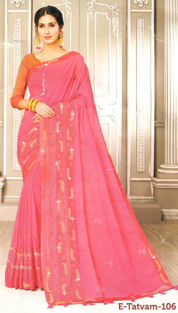 Rajguru Fancy Party Saree 106
