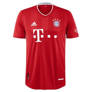 Bayern Home Authentic Jersey 2020-21