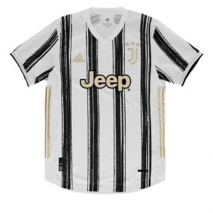 Juventus Home Authentic Jersey 2020-21 Diamu