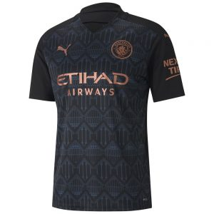 Manchester City Away Jersey 2020-21 Diamu
