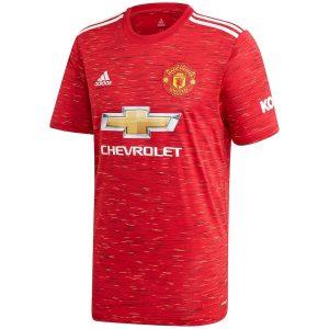 Manchester United Home Jersey 2020-21 Diamu