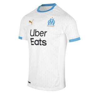 Olympic Marseille Home Authentic Kit 2020-21 Diamu
