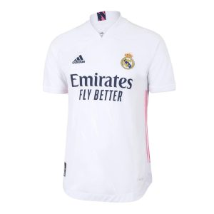 Real Madrid Home Authentic Jersey 2020-21