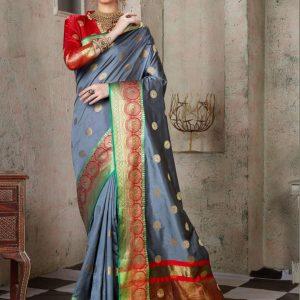 Saroj Weaving Silk Saree
