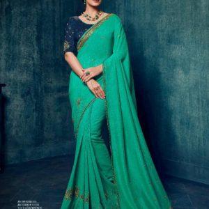 Ardhangini Shreya Embroidery Work Silk Saree 2179