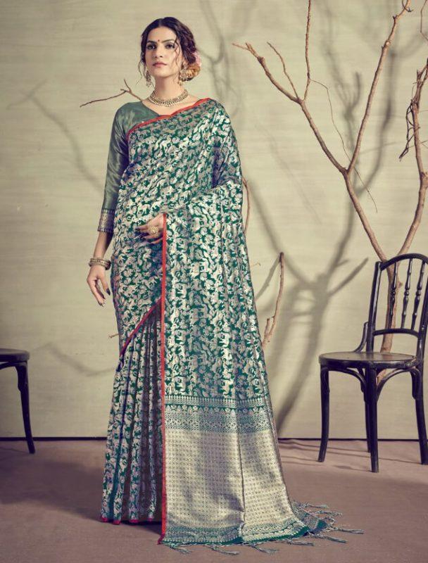 YNF Kanjivaram Silk Saree 29938