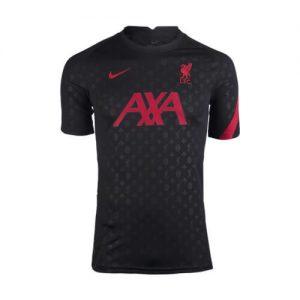 Liverpool FC Pre-Match Black Shirt 20-21 Diamu