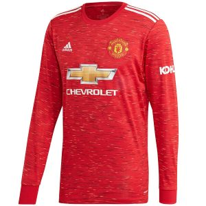 Manchester United Home Full Sleeve Jersey 2020-21 Diamu