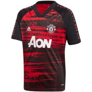 Manchester United Pre Match Red Jersey 2020-21 Diamu