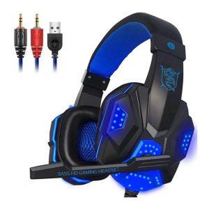 Plextone PC780 Gaming Headphone Blue Diamu