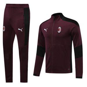 AC Milan Cordovan Tracksuit Trousers 2020-21