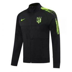 Atletico Madrid Jacket Tracksuit 2020/21 - Black