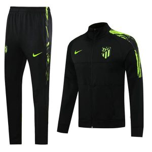 Atletico Madrid Tracksuit and Trouser Set - Black 2020-21