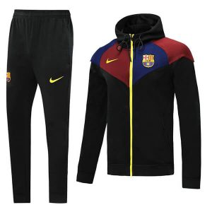 FC Barcelona Hoodie Tracksuit Trousers 2020-21