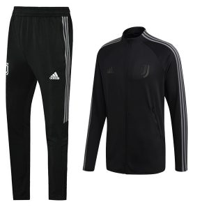 Juventus Anthem Jacket Trousers 2020-21 - Black