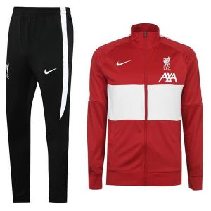 Liverpool FC Tracksuit Trouser Set 2020-21 - Red/Black