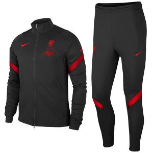Liverpool FC Tracksuit Trouser Set 2020-21 - Black