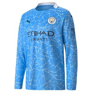 Manchester City Home Jersey Full Sleeve 2020-21