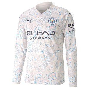 Manchester City Third Kit Full Sleeve 2020-21
