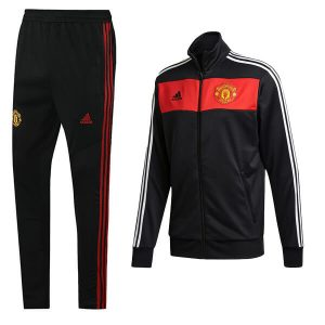 Manchester United Tracksuit Trouser 2020-21 Black