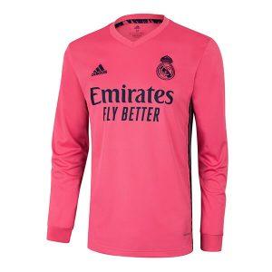 Real Madrid Away Jersey Full Sleeve 2020-21 Diamu