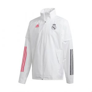 Real Madrid Presentation Jacket -White 2020-21